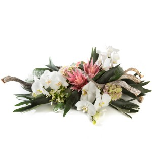 Orchidee Rouwarrangement